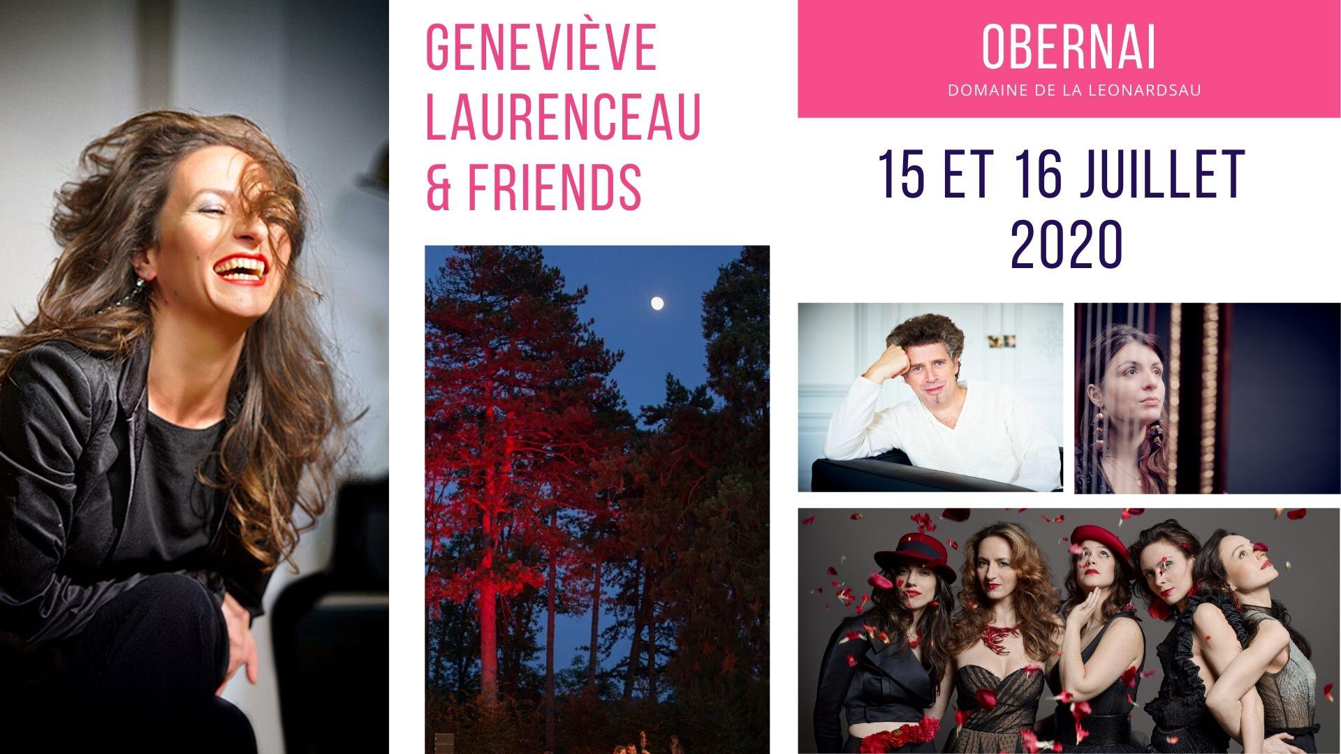 Geneviève Laurenceau & Friends à Obernai
